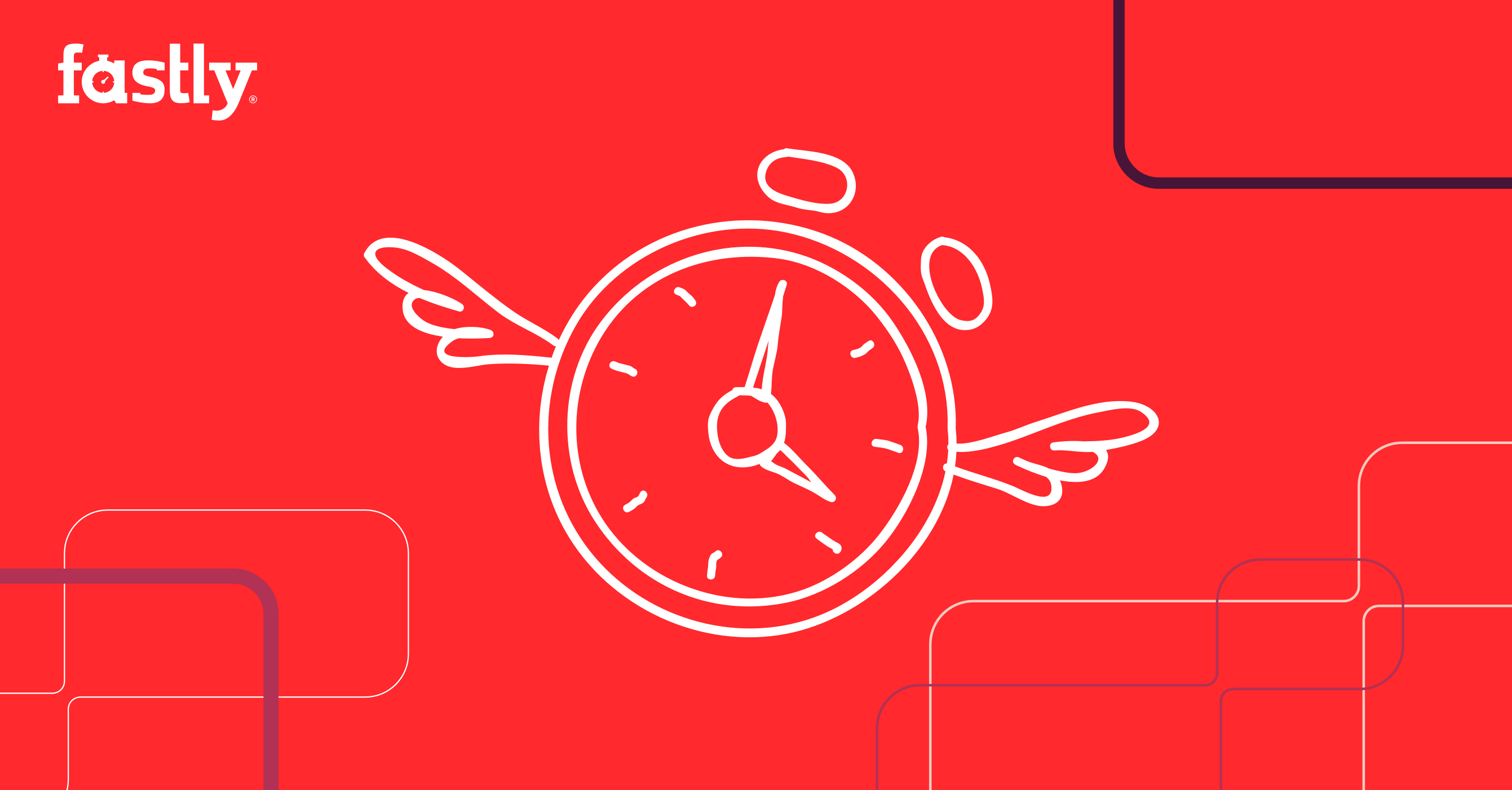Fastly rebrand clock