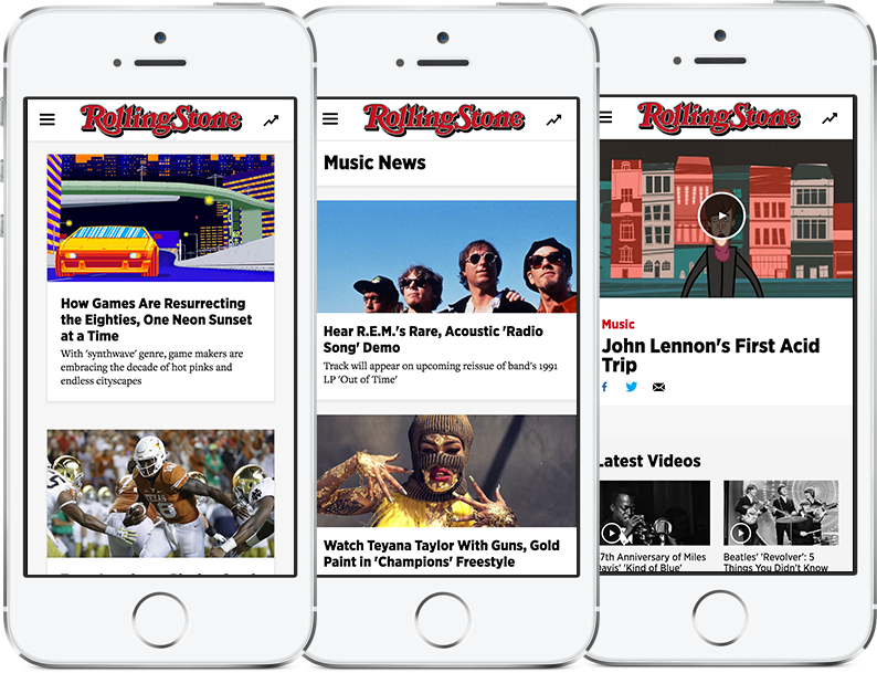 Wenner Media : Rolling Stone Mobile