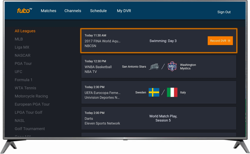 fuboTV Screenshot