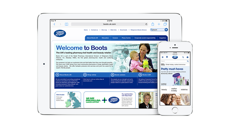 Boots UK Screenshot