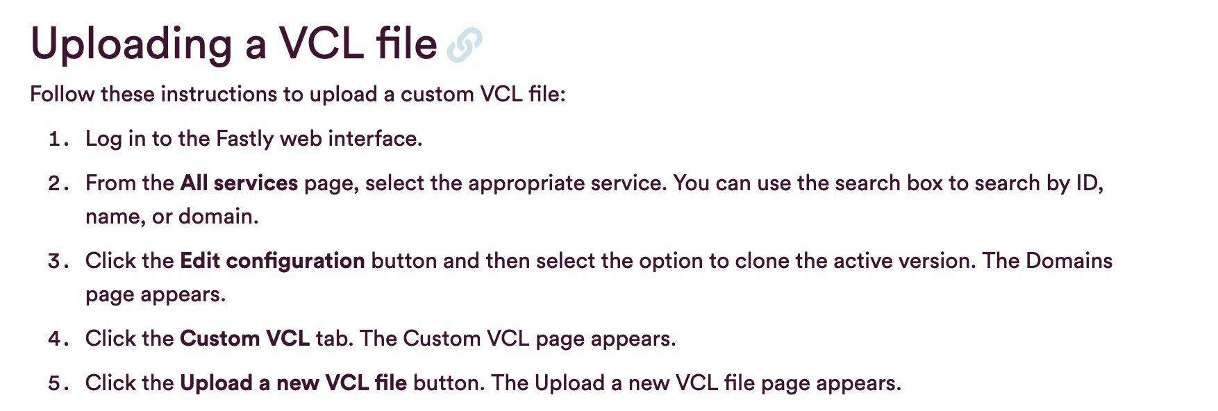 Embed VCL file